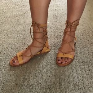 Dolce Vita Shoes - Lace up gladiator sandals
